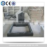 Quality Assurance for European Market Competitive Black Granite Tombstone Headstone and Monument