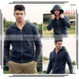 Men's Plush Thick Warm Hoodie Overcoat Winter Coat Fleece Men's Cotton Padded Jacket