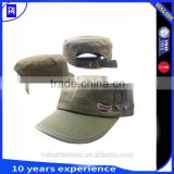 Manufacturer supply hot sale Good Quality custom embroidery logo military hat caps for sale