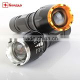 GOREAD Y75 Aluminum High bright rechargeable T6 flashlight 5 mode 10W mr light led torch