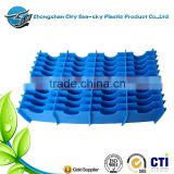 2mm 350gsm blue color plastic corrugated sheet/floor protection board/waterproof corrugated board