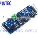 Bluetooth module i2c-controlled PWM driver with a built in clock Solder jumpers for the 6 address select pins
