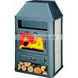 Wood burning stove H200 AB, with boiler, high quality, European products