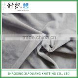 High Quality Waterproof Velour Brushed Micro Fleece Fabric for Blanket