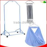 automatic rock baby cradle metal hangers+spring