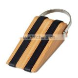 Bamboo door wedge/bamboo design door stopper/door bolts