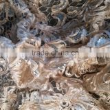 wholesale special sequin embroidery shiny polyester fabric for garment and wedding dress