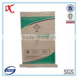 plaster gypsum powder pp woven kraft paper bag
