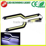 a6 led 18cm z shape DRL Hotest selling new model 100% Waterproof COB DRL led drl for audi a6