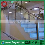 ss interior stairs glass railings design