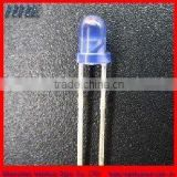3mm round blue in blue leds