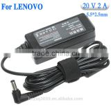Wholesale laptop charger for Lenovo 20V 2A 40W ADP-40NH B 41R4441 45K2200 55Y9361 0225A2040 Laptop Power Supply Battery