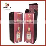 wholesale single wine glass bottle gift box cardboard paper packaging shipping carton wine box                                                                         Quality Choice                                                     Most Popular