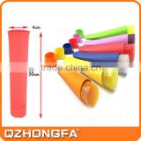 Hot selling colorfull candy kids silicone ice lolly moulds