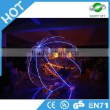 Best selling LED zorbing ball,inflatable lighting LED zorb ball,inflatable LED zorbing roller ball