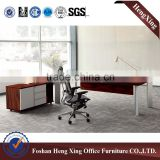 hot sale metal legs office table & new design melamine material office desk HX-NT3122