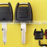 Opel 2 buttons remote key shell with light no logo For opel astra with hu 46 or ym 28 blade