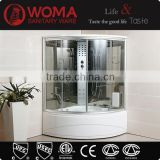 Y801A infrared steam shower cabin/ozonator steam shower room/steam shower room for two people