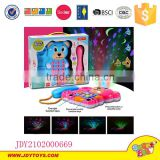 Projector telephone Colorful Animal phone plastic toy with music and light