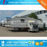 4 wheels 4*2 JAC truck mobile canteen mobile restaurant for sale
