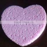 tear shape cellulose sponge , Cellulose cosmetic sponge,makeup remover sponge,washing sponge