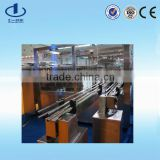 Linked line for glass bottle normal saline washing filling and sealing