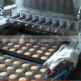 high efficiency machine make cake/automatic cup cake making machine , cake making machine