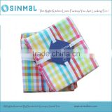 American Brand Plaid Tea Towel Placemats Quality Cotton Kitchen Towels Checked Fashion Kitchen