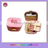 Fancy Small Metal Locks for Jewelry Packaging Box & Pink Standing Mirror Jewelry Packaging Box with Handles Wholesale