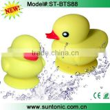New luanch Bluetooth Shower Speaker - Kids Rubber Duckie Speaker - Baby Bath Toy speaker