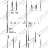 Surgical Scalpels Dura Knives and Comedone Extractors Medical Instruments