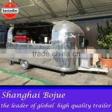 hot sales best quality new style food trailer slush food trailer horse trailer with ramp door