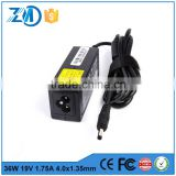 High quality universal ac dc adapter laptop charger parts for Asus