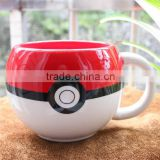China factory wholesale Pokemon Mug pokemon go ball mug pokemon ceramic coffee cup pokemon mugs