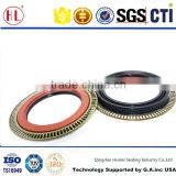ZD135x175x205 double lip double metal cased rear axle cassette combination oil seal for 485 Axle