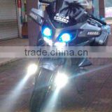 Motorcycle LED Headlight PC U5 Waterproof Spot Light Bulb Lamp led motorcycle headlight
