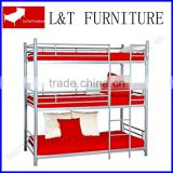 style 3 tier iron bunk bed