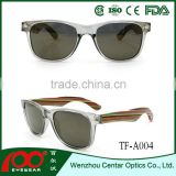 Wholesale china products handmade Bamboo sunglasses , wood polarized sunglasses , Bamboo sunglasses