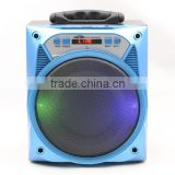 Portable speaker with remote control, bluetooth X-Bass speaker for sale
