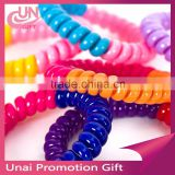 Telephone Wire Elastic Hair Band Ponytail Holders Hair Ring Hair Rope