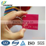 New Material Pink Red Color Cast Acrylic Plastic Sheet