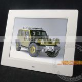 Factory supply 10inch lcd mp4 digital media player photo slideshow player with clock and calendar for Christmas gifts