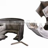 Titanium T3 TURBO HEAT SHIELD BLANKET COVER/Turbocharger GALSS FIBER HEAT SHIELD/Turbo WRAP BLANKET