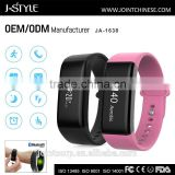 2016 newest smart wristband with high quality chip bluetooth fitness bracelet with heart rate monitor