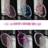 2017 New soft Silicone Puff Cosmetic Silicone Powder Puff Makeup Beauty puff silisponge