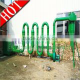CE newest type hot air flow cow dung drying machine wet drying machine for sawdust dryer machine