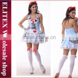 2015 hot sexy adult cosplay xxxl french maid costume