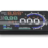 A8 car HUD system OBD2 speed display car security device