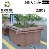 HIgh quality wpc flower box( wood plastic composite )cheap price wpc flower box or wpc tree pot planter