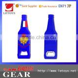 Promotion Plastic Bottle Opener Custom bottle shape beer bottle opener